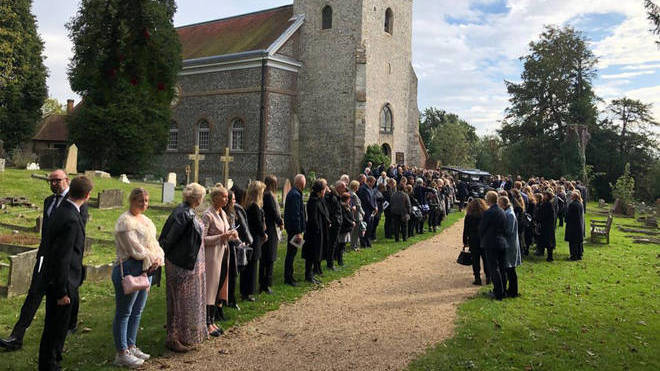 Libby Squire's funeral was attended by hundreds in West Wycombe