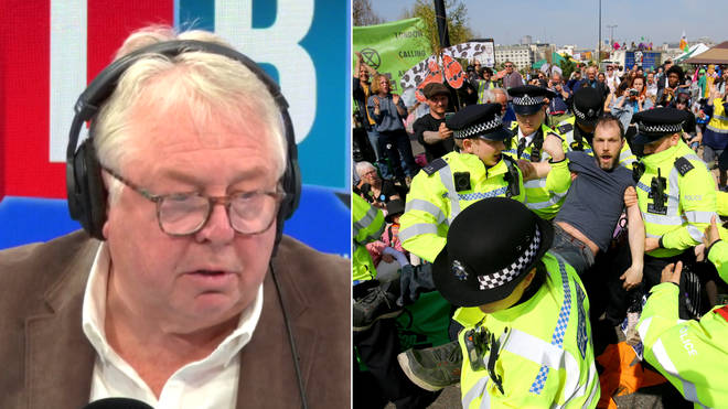 Nick Ferrari took this Extinction Rebellion activist to tast