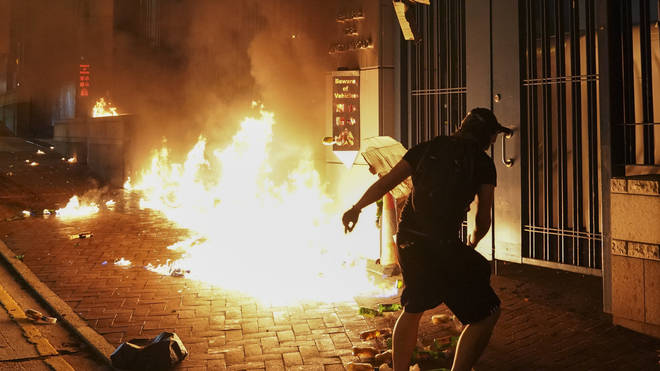 Protests have escalated in violence