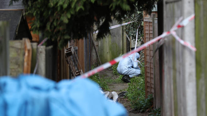 Her body was found in her garden in Kew