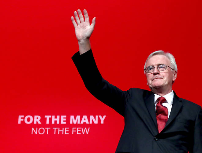Mr McDonnell will announce Labour's plan to rebuild the economy