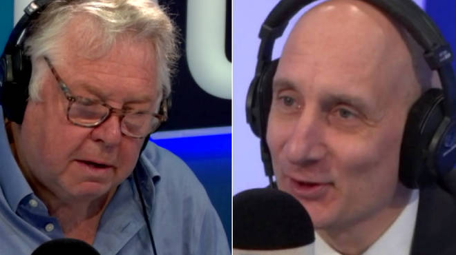 Nick Ferrari had strong words for Lord Adonis