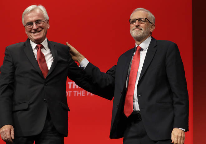 Mr McDonnell set out Labour's economic plans