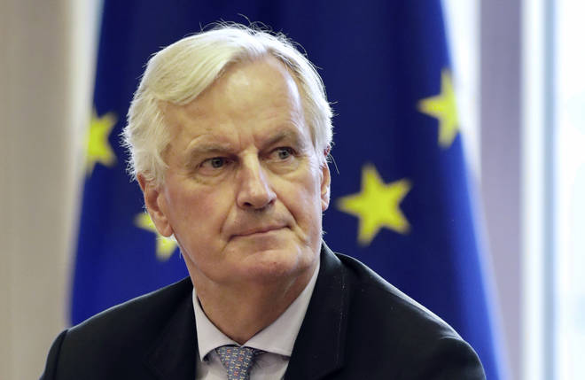 Michel Barnier has said Boris Johnson will have to bear responsibility for a no-deal Brexit