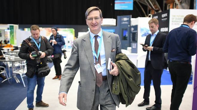 Mr Grieve at the Conservative Party Conference