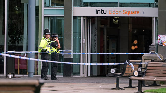 Mr Duncan was stabbed outside Eldon Square shopping centre in Newcastle
