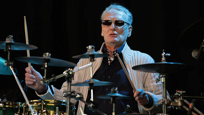 Ginger Baker performing at Field Day in 2013