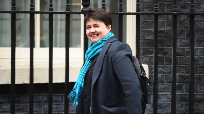 Ruth Davidson resigned as Scottish Tory leader in August.