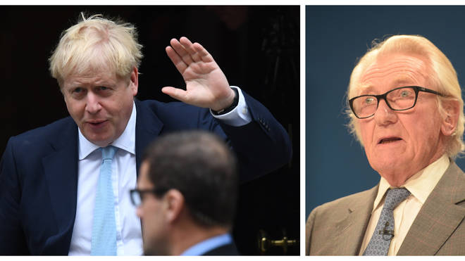 "Lord Heseltine ""Stupefied"" By ldea Boris Johnson Would Refuse To Leave Downing St"