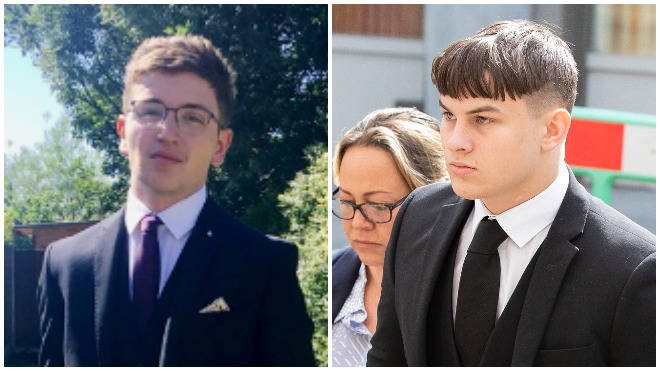 """The man who stabbed his """"good friend"""" to death has been named as 17-year-old Joshua Molnar"""