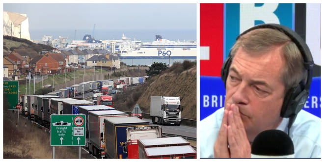 Caller Who Runs Transport Business Tells Nigel Farage Why Post-Brexit Customs Won't Be Hard