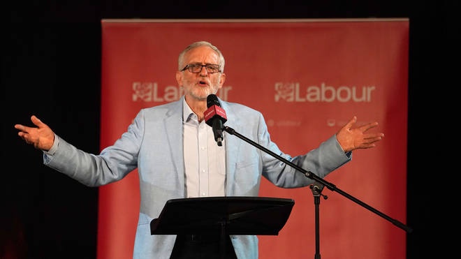 The Labour leader will meet other opposition leaders on Monday