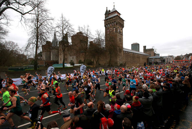 A record number of runners took part in the 2019 half marathon