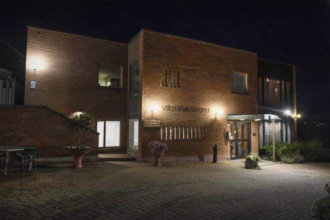 Talks are being held at Villa Elfvik Strand conference center in Lidingo, Stockholm