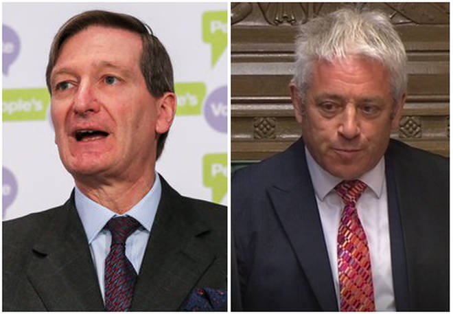 Dominic Grieve and John Bercow