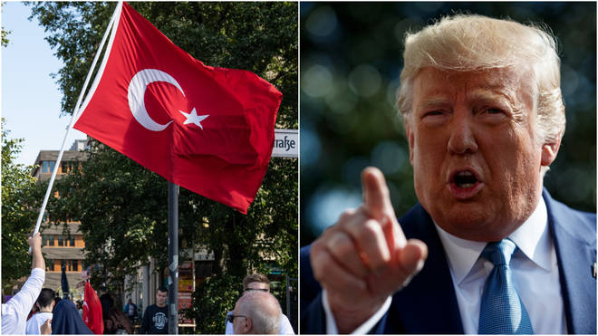 Donald Trump suggested he had destroyed Turkey's economy at least once before