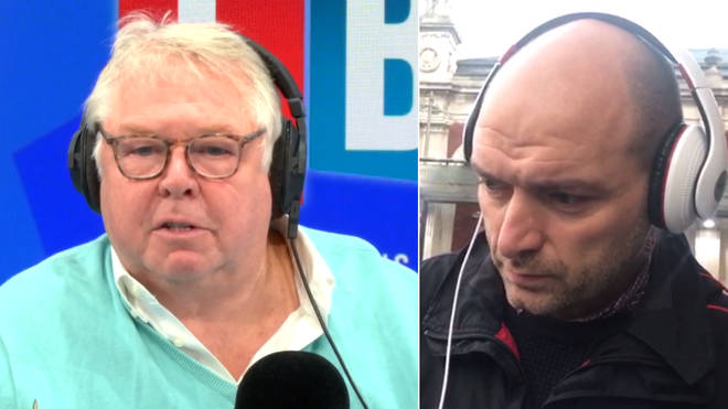 Nick Ferrari had a heated row with Alex Lockwood