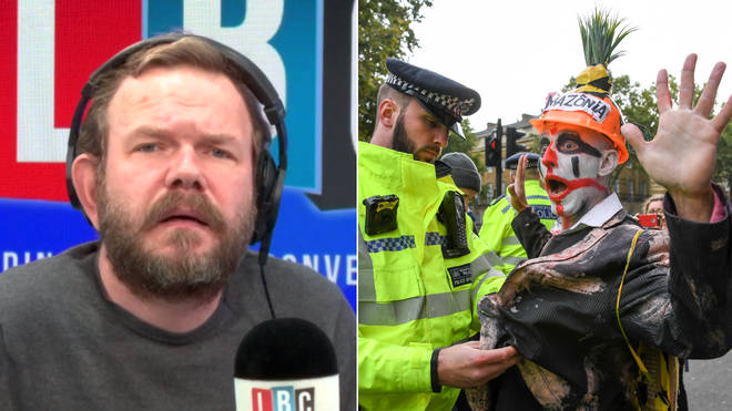 Tiago the clown called in to James O'Brien's show