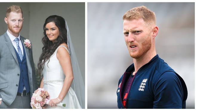 Clare Stokes, wife of Ben Stokes, has taken to Twitter to defend her husband