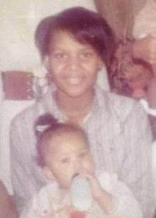 Alice Marie Johnson, with her daughter Tretessa