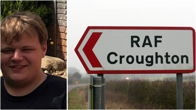 19-year-old motorcyclist Harry Dunn was killed near to the RAF base