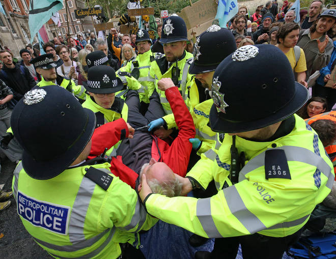 More than 500 protesters have been arrested