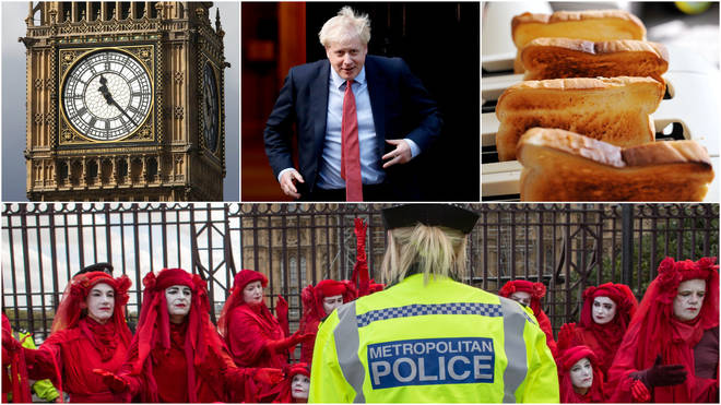 Parliament, Protests, Brexit and Toast...