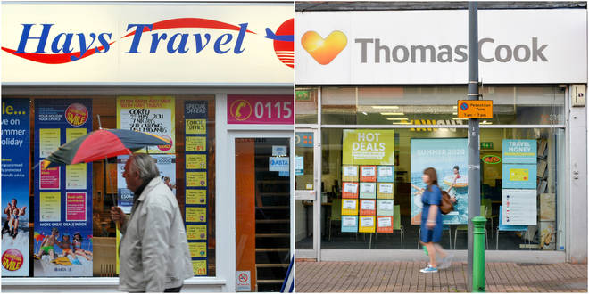 Hays Travel is set to buy all 555 stores from Thomas Cook