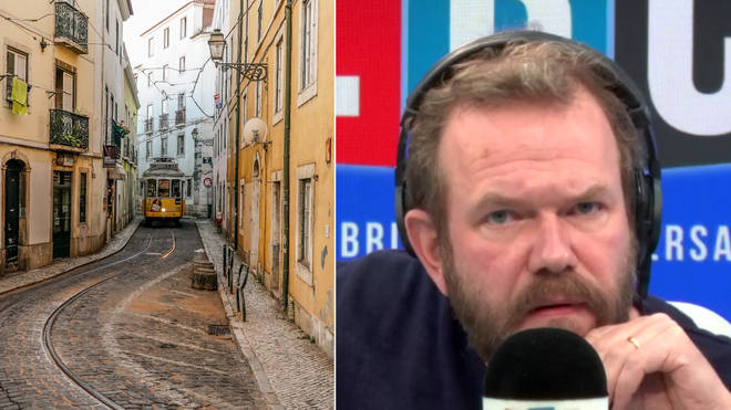 James O'Brien had a remarkable call with this listener from Portugal