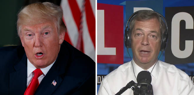 Nigel Farage gives his assesment on Donald Trump and North Korea.