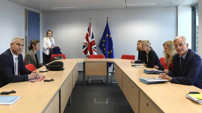 Stephen Barclay will meet with Mr Barnier on Thursday