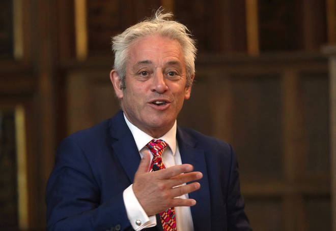 John Bercow spoke with the European Parliament head today
