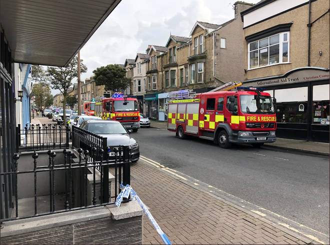 Two men have been confirmed dead at the fire