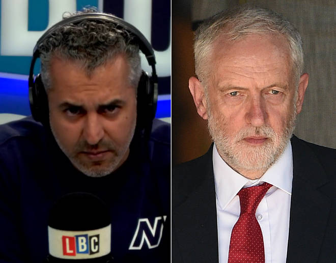 Maajid Nawaz had this challenge for Jeremy Corbyn