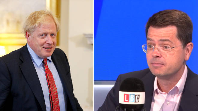 James Brokenshire had a meeting with Boris Johnson yesterday