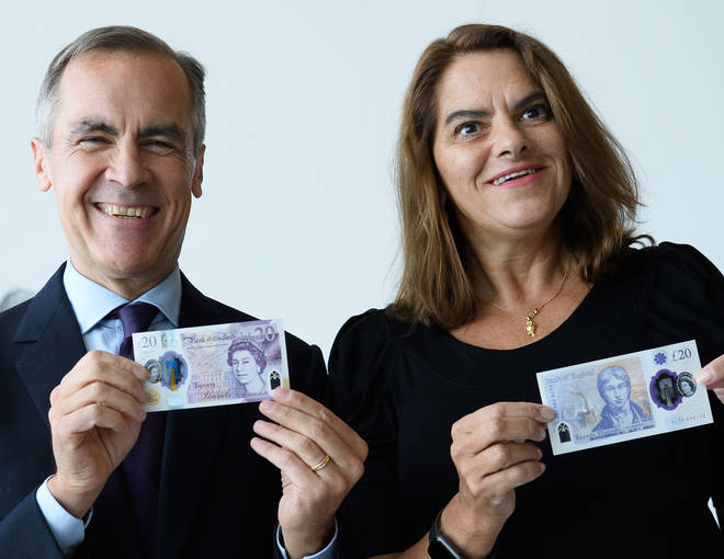 The new note incorporates two windows and a two-colour foil to thwart counterfeiters.