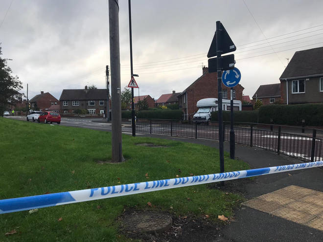 Police were called to the scene at around 2pm