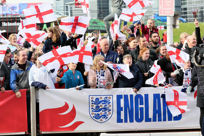 "England fans have ben warned not to ""embarrass themselves"""