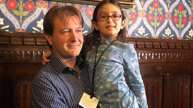 The daughter of Nazanin Zaghari-Ratcliffe has returned to the UK
