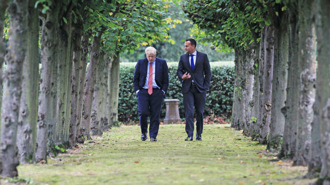 "Mr Varadkar and Mr Johnson both say they can ""see a pathway"" to a deal"