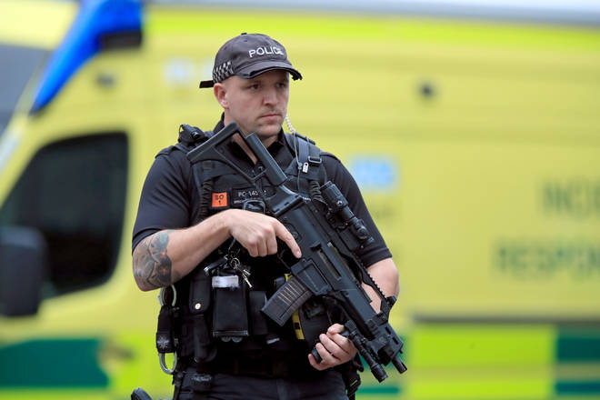 Man arrested in Manchester on suspicion of terror offences