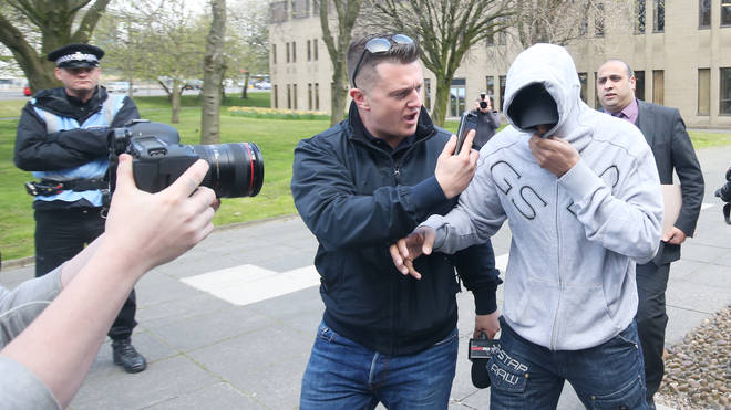 Mr Yaxley-Lennon was convicted of contempt of court earlier this year