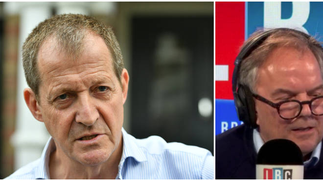 Alastair Campbell Tells LBC That John McDonnell Would Readmit Him To Labour