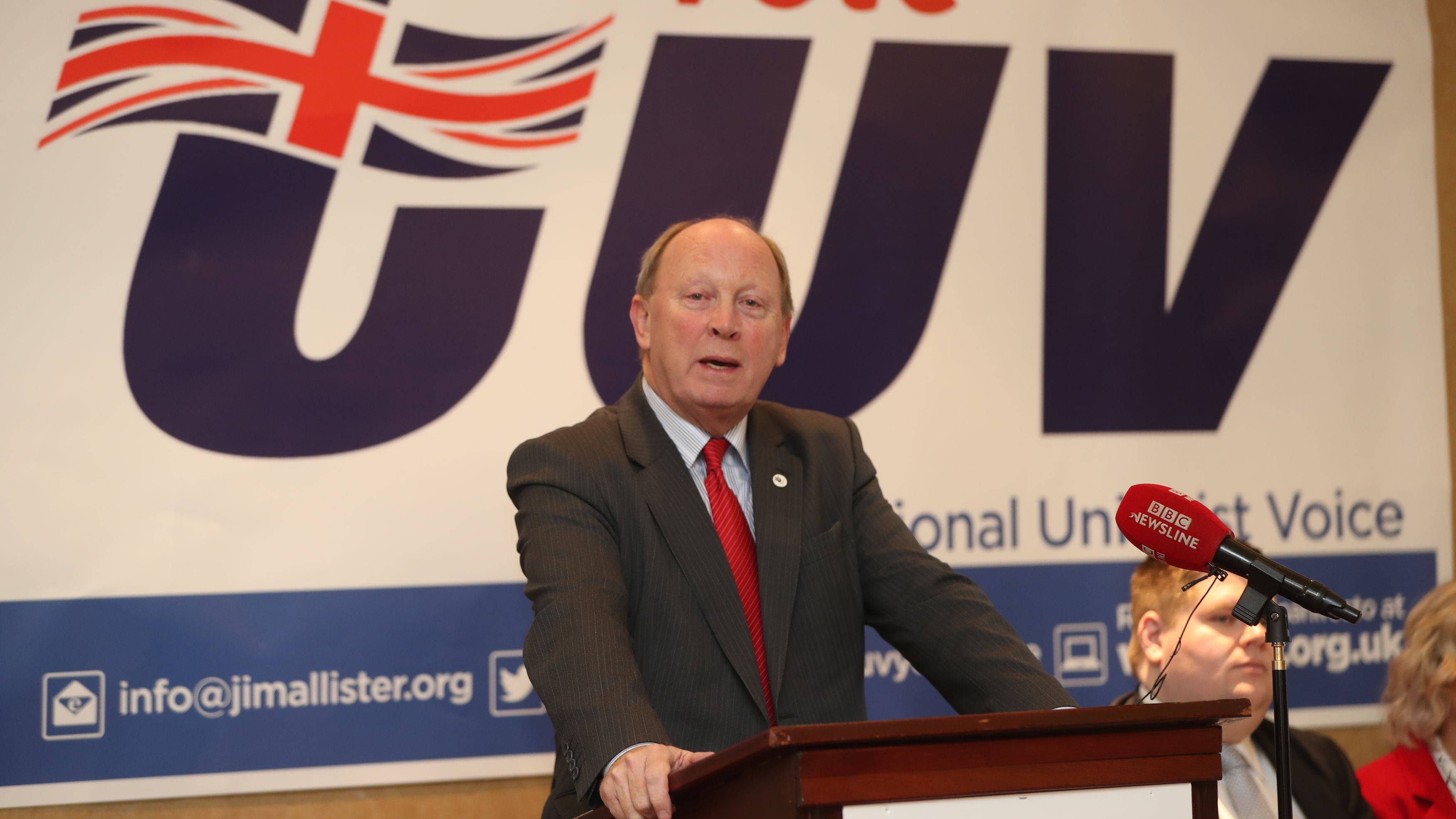 """""""It's Always Been The Ambition Of EU and Dublin To Break Up UK"""", Says Jim Allister"""