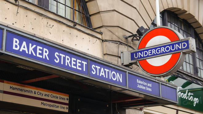 A woman gave birth at Baker Street station on Friday morning