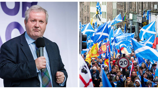 Ian Blackford will call for a fresh general election