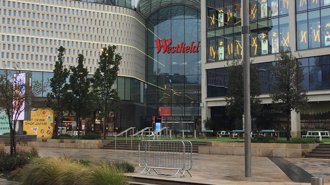 The victim was stabbed repeatedly at the Westfield shopping centre in Shepherd's Bush