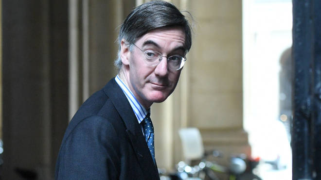 Jacob Rees-Mogg said the prospect of a Brexit deal was looking 'more positive' today