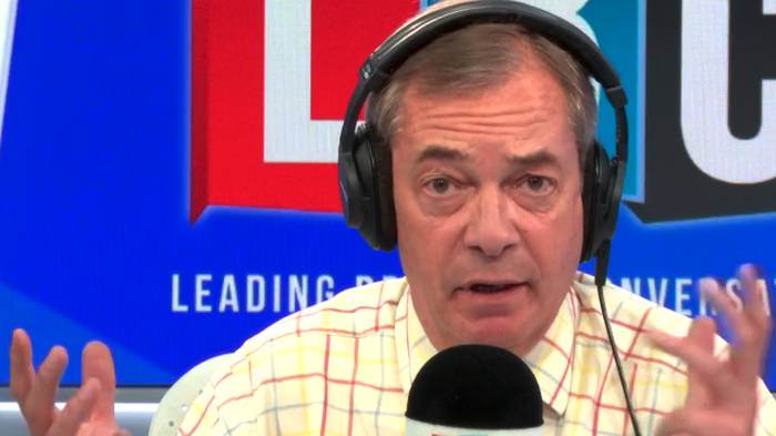 Nigel Farage Clashes With Caller Who Voted Leave But Is Now A Liberal Democrat