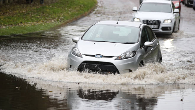 There are 33 flood alerts in place in the UK